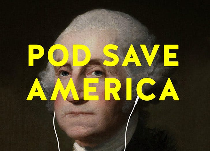 pod save america news podcasts NY