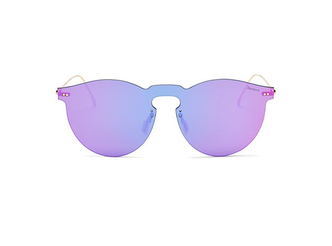 purple colorful quay sunglasses