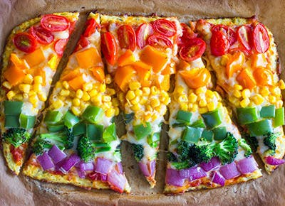 rainbow pizza 290