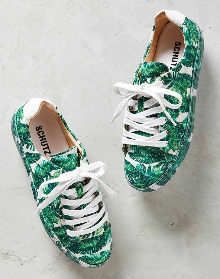 schutz sneakers tropical prints NY 2
