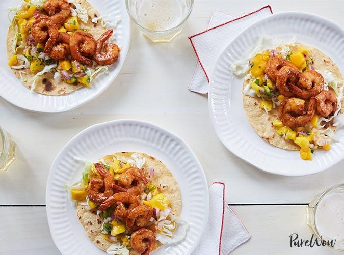 shrimp tacos purewow