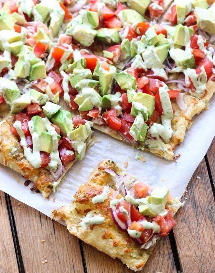 skinny avocado pizza LIST