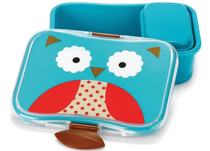 skiphop zoo kids lunch kit owl 524