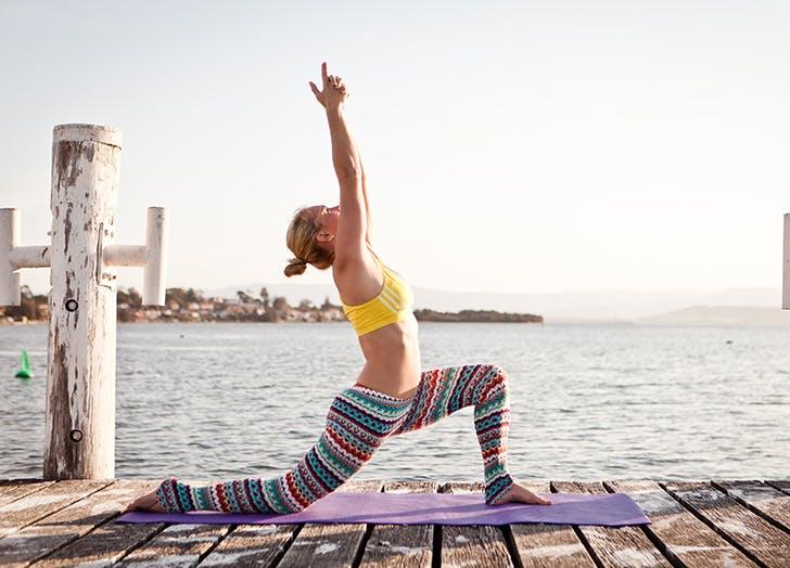 sports bra yoga
