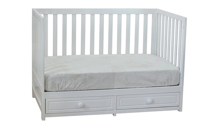 storage convertible crib small space baby things