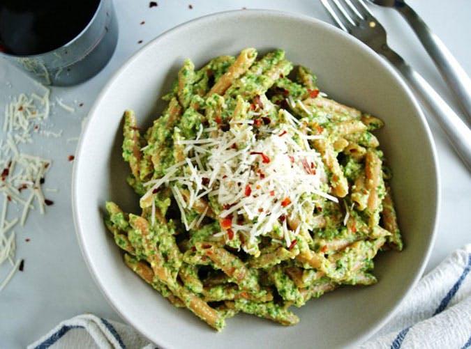 summer dinner under 500 calories lentil pasta