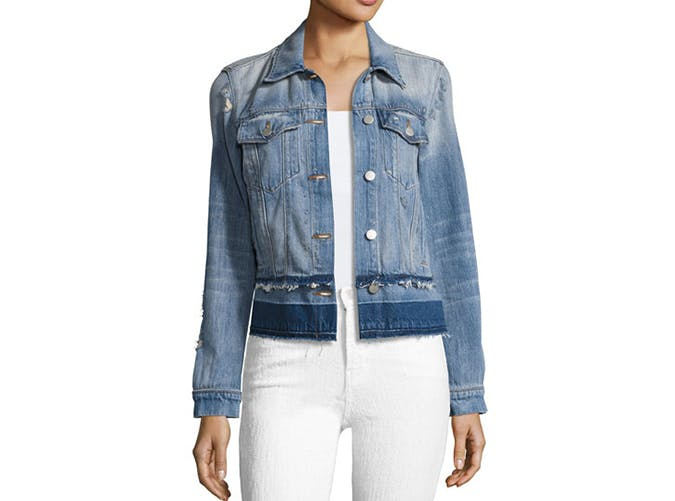 summer wardrobe checklist denim jacket 3