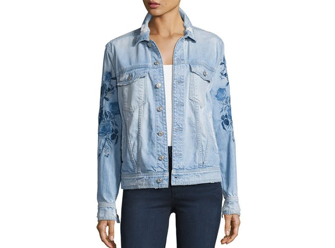 summer wardrobe checklist denim jacket 4