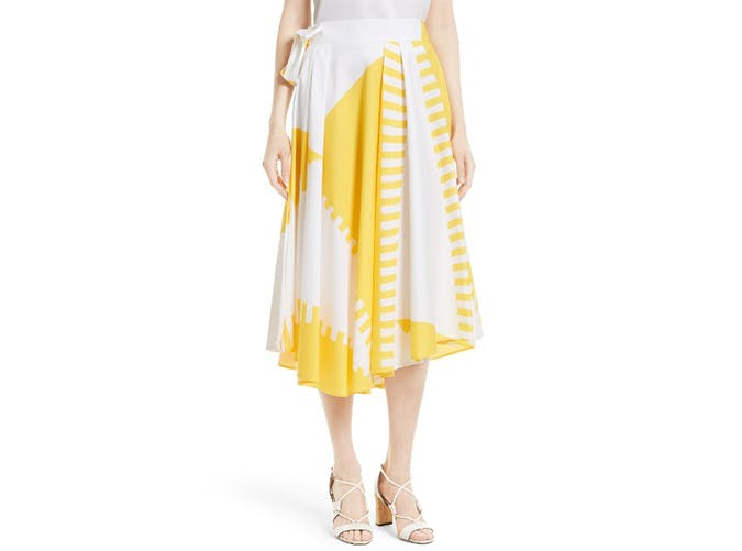 summer wardrobe checklist midi skirt 1