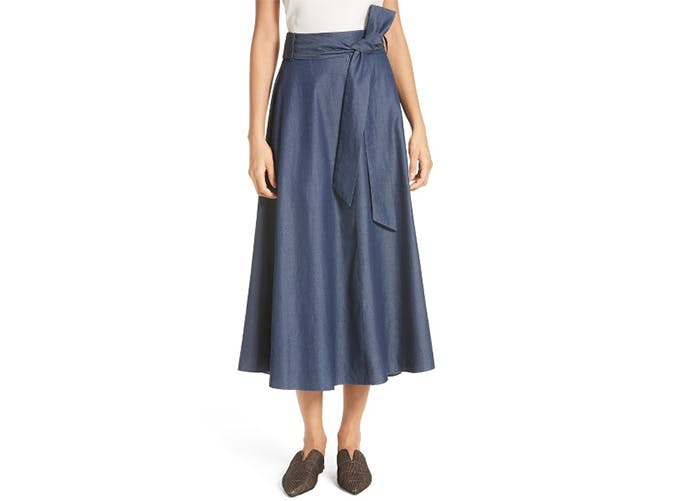 summer wardrobe checklist midi skirt 8