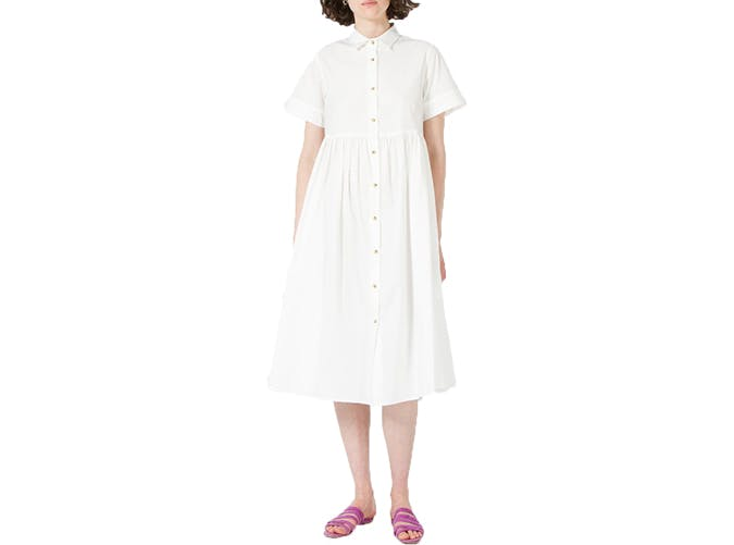 summer wardrobe checklist white dress 1