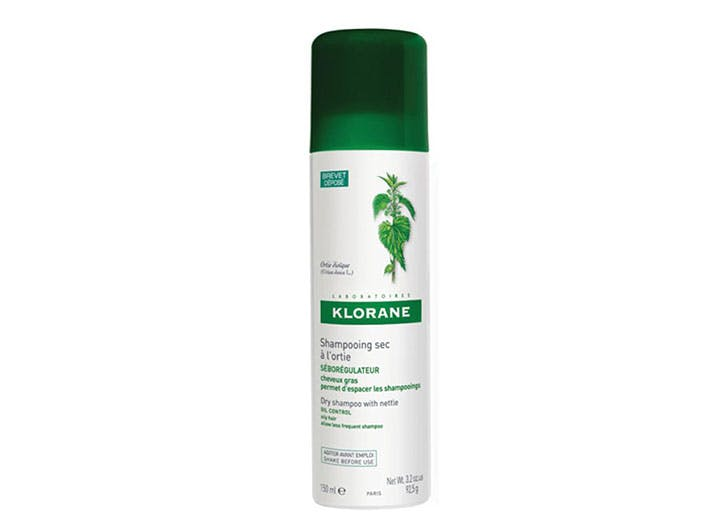 sweaty girl beauty products klorane