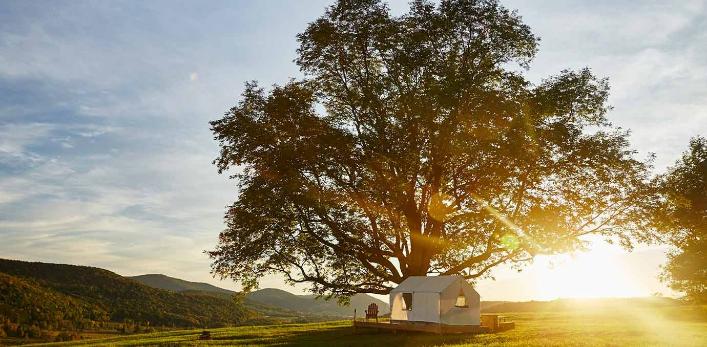 Tentrr (2 hours from NYC) & 8 Places for Upscale Glamping Near NYC - PureWow