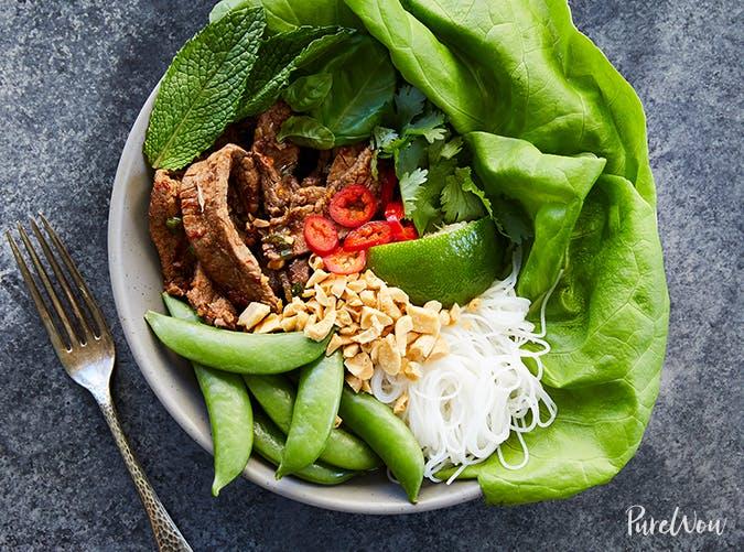 thai beef bowls purewow