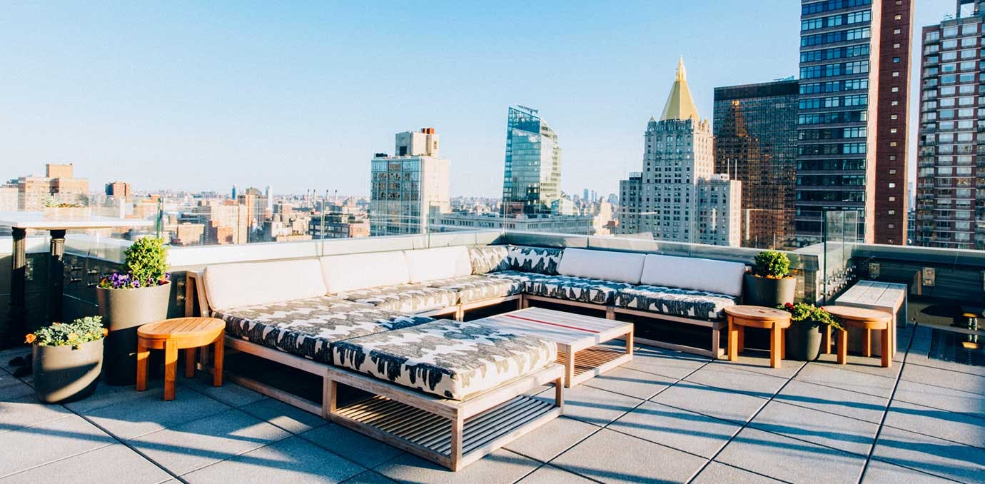 the heights rooftop bar NY