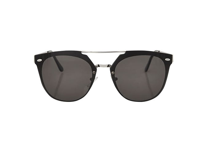 topshop black cateye sunglasses