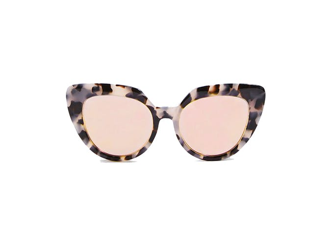 topshop cateye tortoise sunglasses