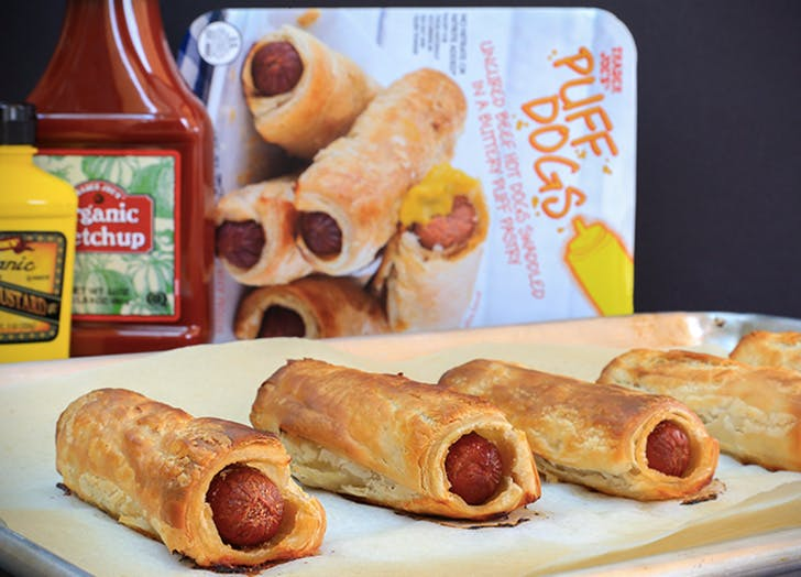 trader joes puff dogs
