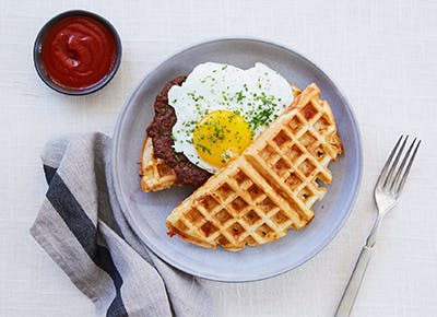 waffle breakfast sandwich recipe CAR