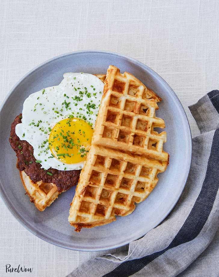 waffle breakfast sandwich recipe LIST
