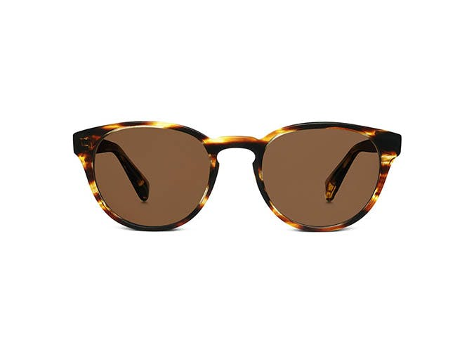warby parker tortoise round sunglasses