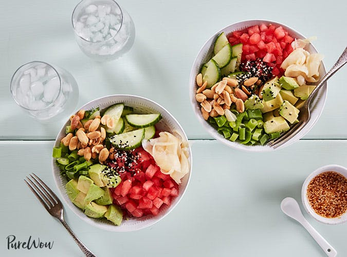 watermelon poke bowl 501