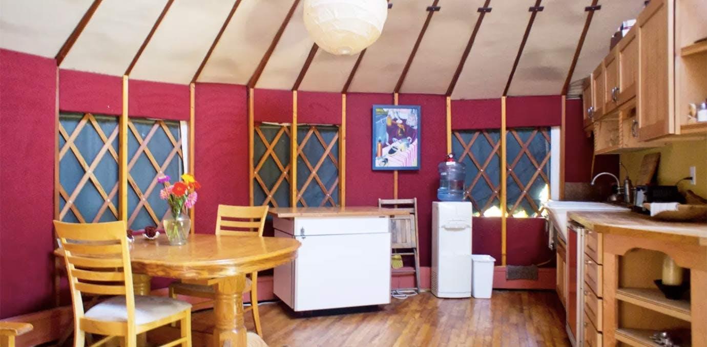 yurt glamping NY