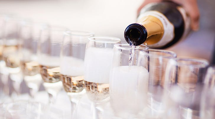 A $10 Sparkling Wine Was Just Ranked Among the Best in the World