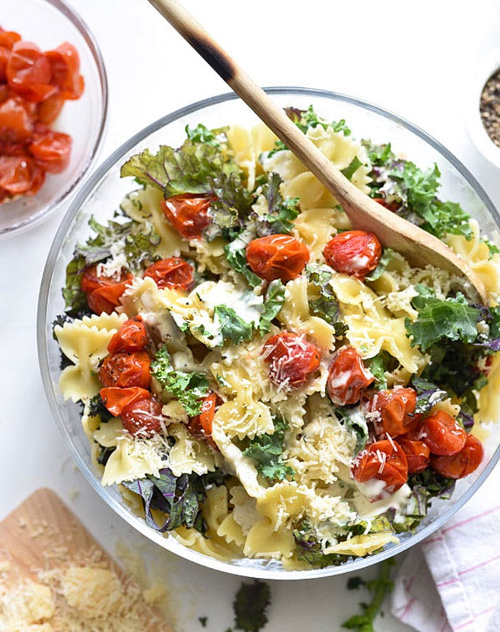 5 ingredient summer dinner pasta salad