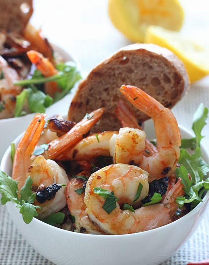 5 ingredient summer dinner spicy shrimp