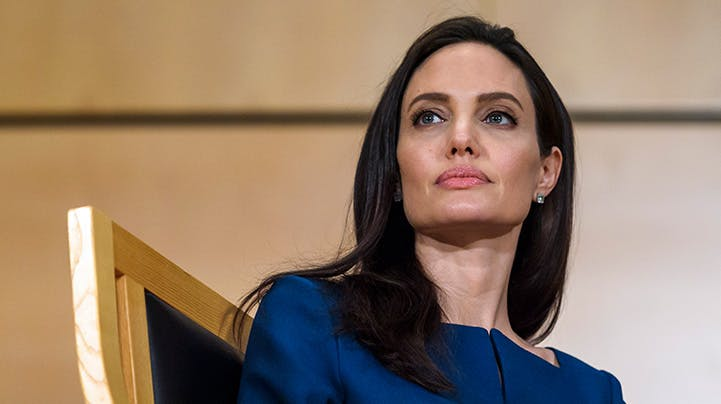 Angelina Jolie Opens Up About Divorce and Bell's Palsy Diagnosis