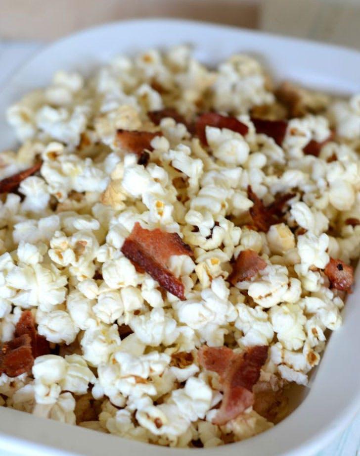 Bacon Fat Popcorn