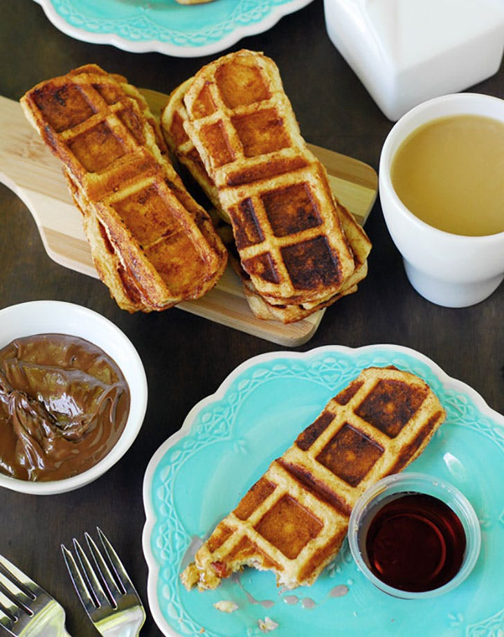 Bacon Waffle Cinnamon Dippers1