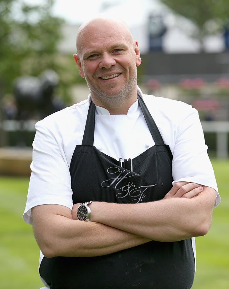 British chef Tom Kerridge smiling portrait