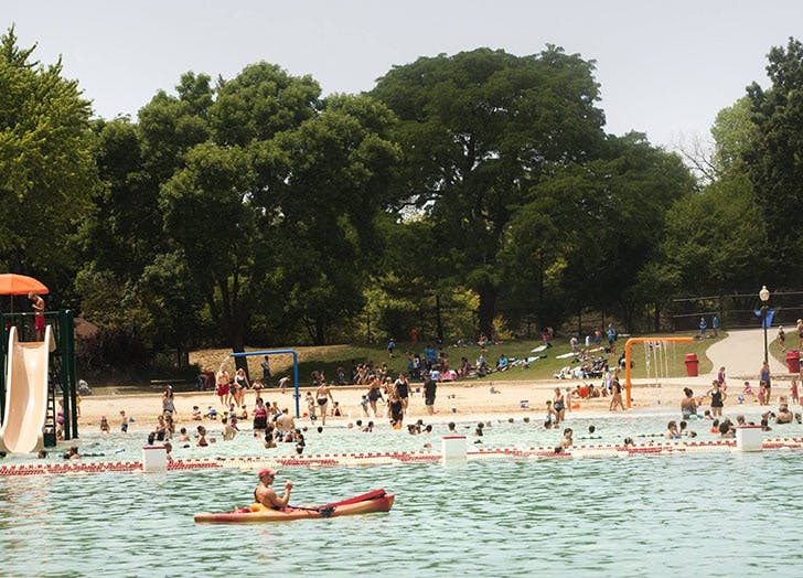 CHI watering holes centennial beach LIST