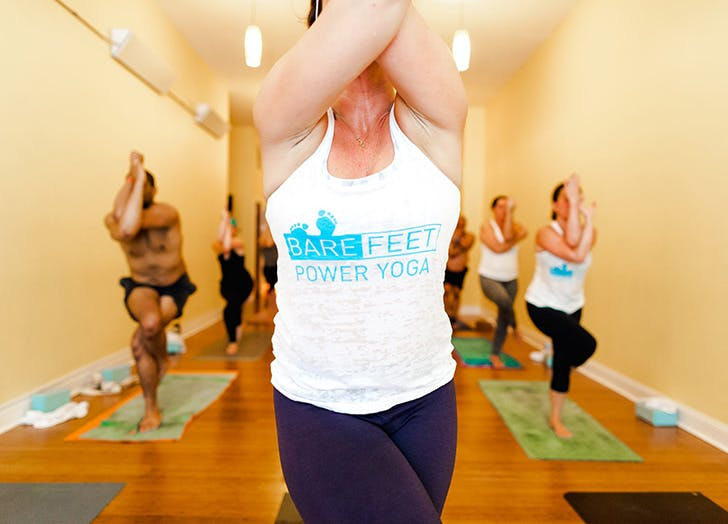 CHI yoga bare feet power LIST