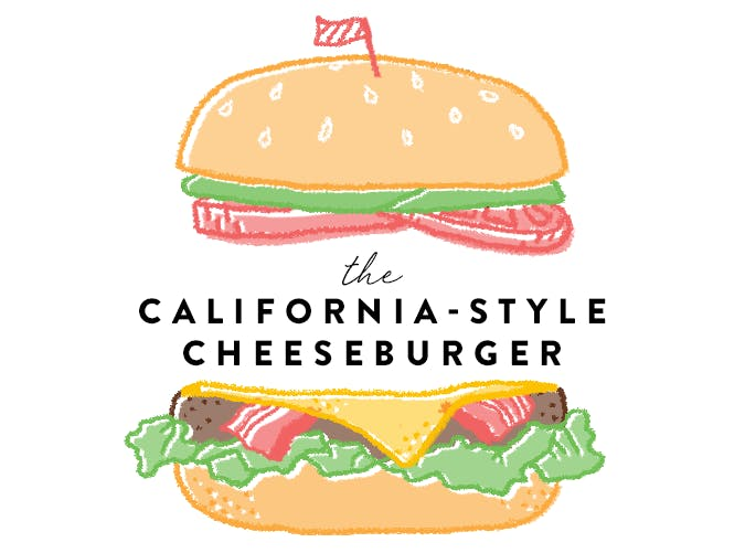 California Style Cheeseburger