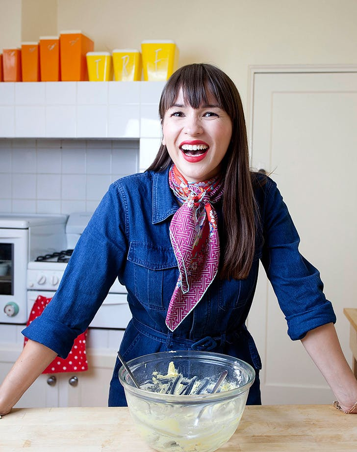 Chef Rachel Khoo in her little kitchen