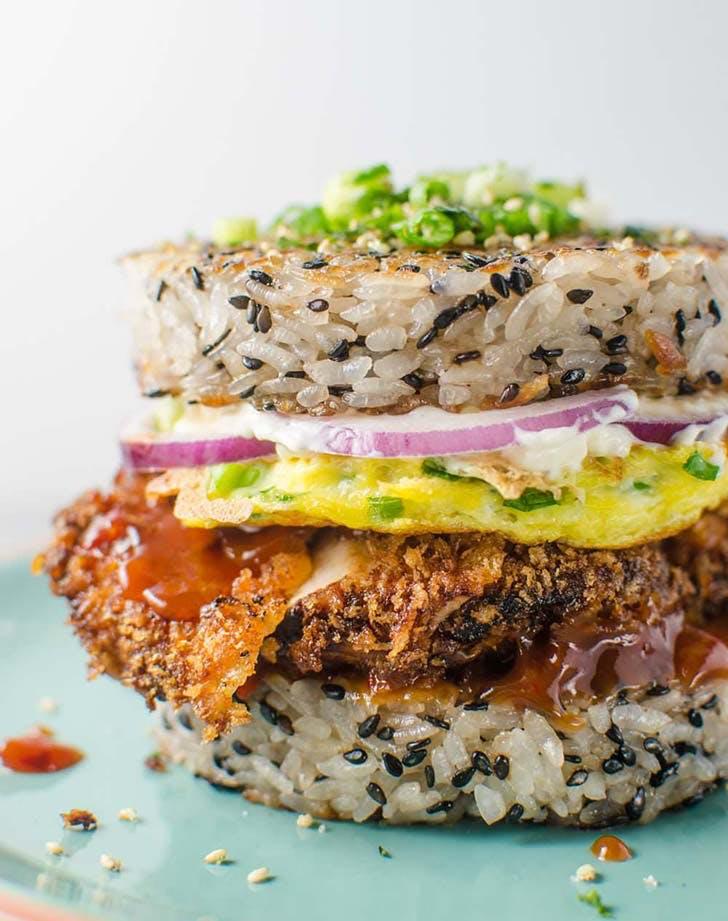 Chicken Katsu Sushi Burger 921