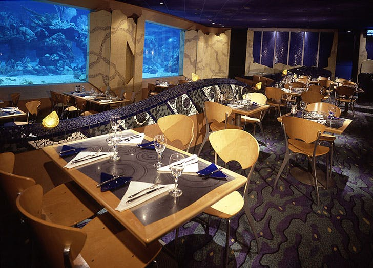 Coral Reef Restaurant at Epcott in Disney World