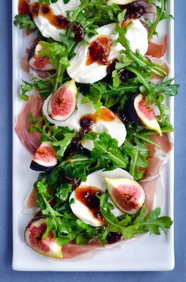 Fig  Prosciutto and Burrata Cheese Salad1
