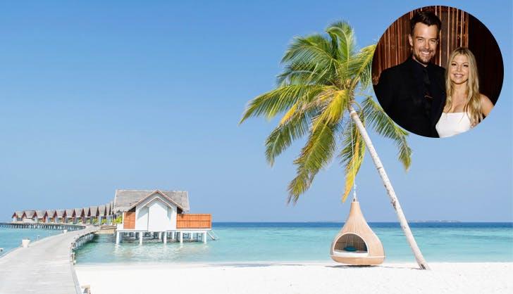 Josh Duhamel Maldives