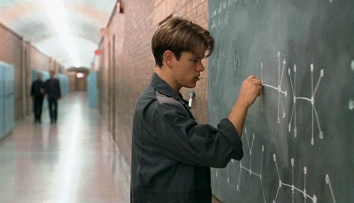 Matt Damon good will hunting