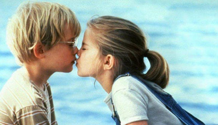 Celebs Who Had Their First Kiss On-Screen - PureWow