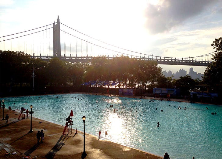 NY pools astoria park LIST