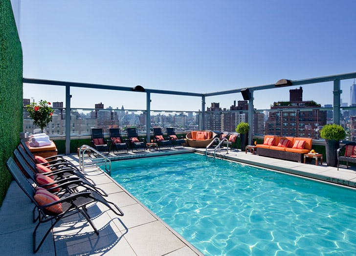 NY pools gansevoort LIST