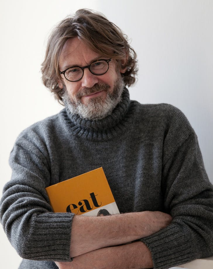 Nigel Slater photographed by Christina Solomons for harpercollins