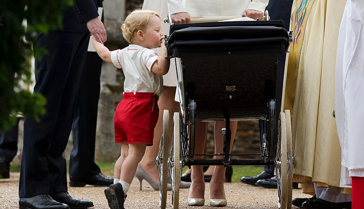 Prince George Charlottes Christening