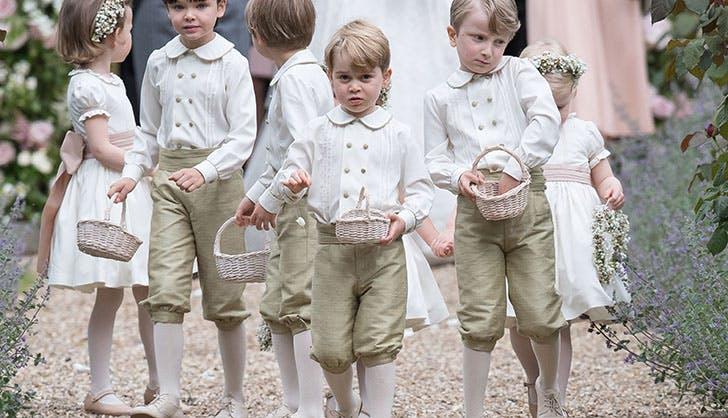 Prince George Pippas Wedding