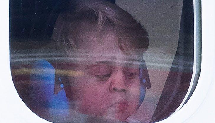 Prince George Plane Window